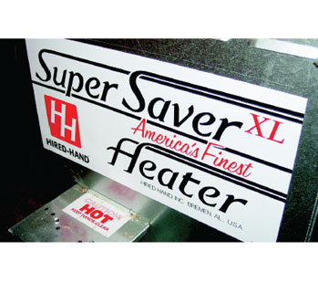 Hired Hand Heater Super Saver Heater Heating System
